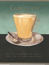 Caffe Latte - Mocha - Cappuccino - Espresso - Only $9 - Wallpaper Border A275