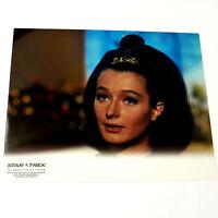 *DIANA MULDAUR* (Dr. Miranda Jones) Star Trek COLOR PHOTOGRAPH 8x10 TOS 40 Years