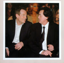 LED ZEPPELIN POSTER PAGE . 2005 GRAMMY AWARDS JIMMY PAGE & JOHN PAUL JONES . H78