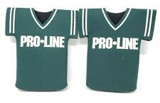 Pro Line Sports Gambling Promotional Beer Bottle Coozie Koozie Hugger Jersey X2