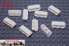 10x Lochbalken Lochstange Liftarm 1x3 neu hellgrau LBG beam 32523 LEGO Technic
