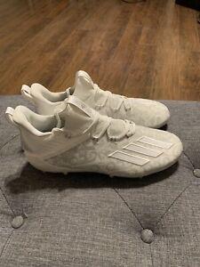 Adidas Adizero New Reign Floral White Football Cleats FU6705 Size 10