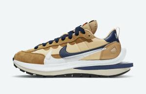 Sacai x Nike Vaporwaffle Sesame Size M 11.5 / W 13 Tan Navy DD1875-200 AUTHENTIC