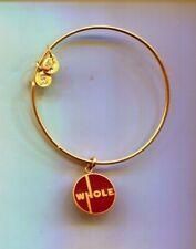Enamel Whole gold bracelet Alex & Ani Brown