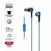 Sony MDRXB50AP/L Extra Bass Earbuds - Blue