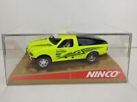 Slot Car Scalextric Ninco Ford Ranger pro Lastwagen Gelb
