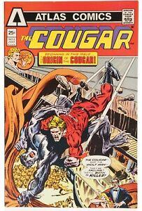 💎 1975 THE COUGAR #2 Atlas Comics The Origin of the Cougar Very Fine 👀🎉💎