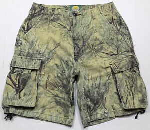 Cabela's Seclusion 3D Open Country Camo Cargo Shorts Mens Size 32