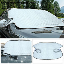 Car Windshield Cover Sun Protector Winter Snow Ice Rain Dust Frost Guard Silver