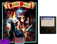 """BATTLE CHESS : floppy disc 3,5"""" Commodore Amiga backup game disk (READ)"""