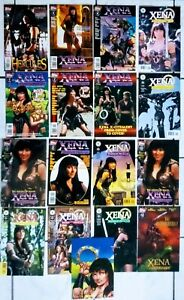 XENA Comics  complete NM to NM+ (Hercules #3 1st app)...all versions of #0 -#5 !