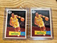 2 - 2007-08 Topps 50TH ANNIVERSARY Kobe Bryant  #24 MINT FROM PACK