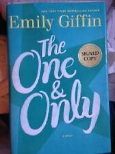 Emily Giffin~THE ONE & ONLY~SIGNED 1ST/DJ~NICE COPY