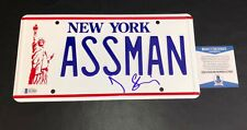 JERRY SEINFELD SIGNED AUTHENTIC AUTOGRAPH KRAMER LICENSE PLATE BAS COA
