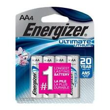 Energizer Ultimate Lithium AA Batteries L91BP-4 - 4 Pack