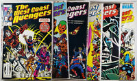 West Coast Avengers Lot of 10 Comics! Including Annuals! Mid-VF See Listing!
