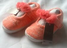 Girls Next Pink Fluro Shoes Size 3 ** Brand New **