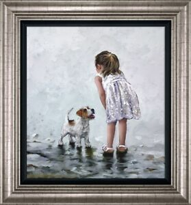 Puppy Love by Keith Proctor Limited Edition Signed Print