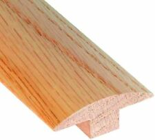 Unfinished Oak Wood 78 T-Molding Stainable Paintable Threshold Transition Strip