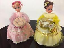 Lil Missy Beaded Doll Vtg Walco Lot 2 Happy Birthday 13401 Anniversary 13403