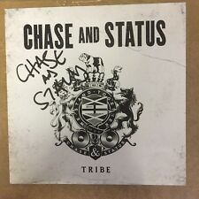 Chase And Status - Tribe Signed Art Card Autographed