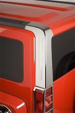 Door Pillar Post Trim Set-Classic Decorative Stainless Steel Left Right fits H3