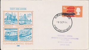 (JP-226) 1966 GB FDC 6d British technology used (226HS)