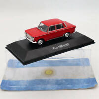 IXO Altaya Fiat 1500 1963 Red 1:43 Diecast Models Limited Edition Collection