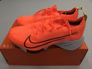 Nike Air Zoom Tempo Next% FK Flyknit Orange Men's Size 12 | CI9923-800