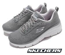 Scarpe Skechers Donna Memory Foam da Ginnastica con Lacci Sneakers Sportive Alte