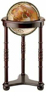 Replogle Lancaster Floor Globe, Bronze Metallic