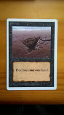 MTG Unlimited Sinkhole NM/SP