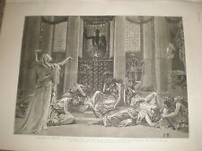 The Story of Orestes Prince's Hall Piccadilly London 1886 old print ref BW
