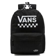 Vans Steet Sport Realm Backpack - Black / White Checkerboard