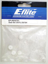 E-Flite EFLRDS751 Engrenages Servo DS75 DS75H Engrenage Set modélisme