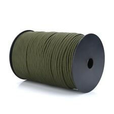 100m 550 Paracord Parachute Cord Lanyard Mil Spec Type III 9 Strand Core Rope