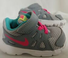 Nike Revolution 2 TDV 555092-008 Toddler Girls Shoes Gray/Pink/Teal Size 3C
