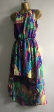 Primark Multicoloured Feathers Summer Dress Holiday Events 10 UK