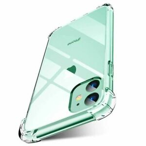 For Apple iPhone 2021 13 Pro Max 13 mini CLEAR Case Cover Shockproof Tough Gel