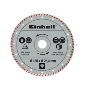 Einhell 4301176 RT-TC 430 U Disco Diamantato Turbo 180MM 180 X TAGLIAPIASTRELLE