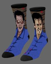 New Evil Dead 2 Socks - Ash Williams Bruce Campbell Kandarian Demon
