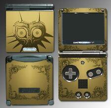 Legend of Zelda Majora's Mask Special Edition Game Decal Skin Nintendo GBA SP