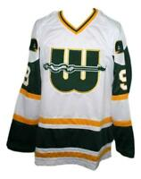 Any Name Number Size New England Whalers Hockey Jersey White Gordie Howe