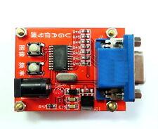 Generador de Señal VGA Probador de pantalla LCD de entrada de alimentación de 7V-12V - vendedor de Reino Unido