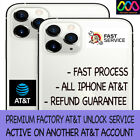 PREMIUM FACTORY UNLOCK SERVICE AT&T iPhone 13 12 Pro Max 12 11 Xs Max Xr X 8 7 6