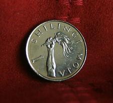 Tanzania 1 Shilling 1990 World Coin K22 President Mwinyi Africa torch shilingi