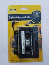 Cd Car Cassette Adapter~Brand New and Sealed~Audio Mp3/Cd Player (Dvd,Vcd,Tv)