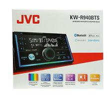 JVC KW-R940BTS 2 DIN In-Dash CD Receiver w/ Bluetooth &  Alexa Built-in