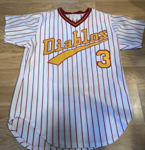 Vintage Game Used Jersey El Paso Diablos Milwaukee Brewers Minor Lg 80's/90's