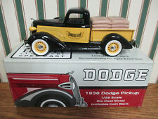Ag Alumni Seed 1936 Dodge Pickup Bank By SpecCast 1/28th Scale